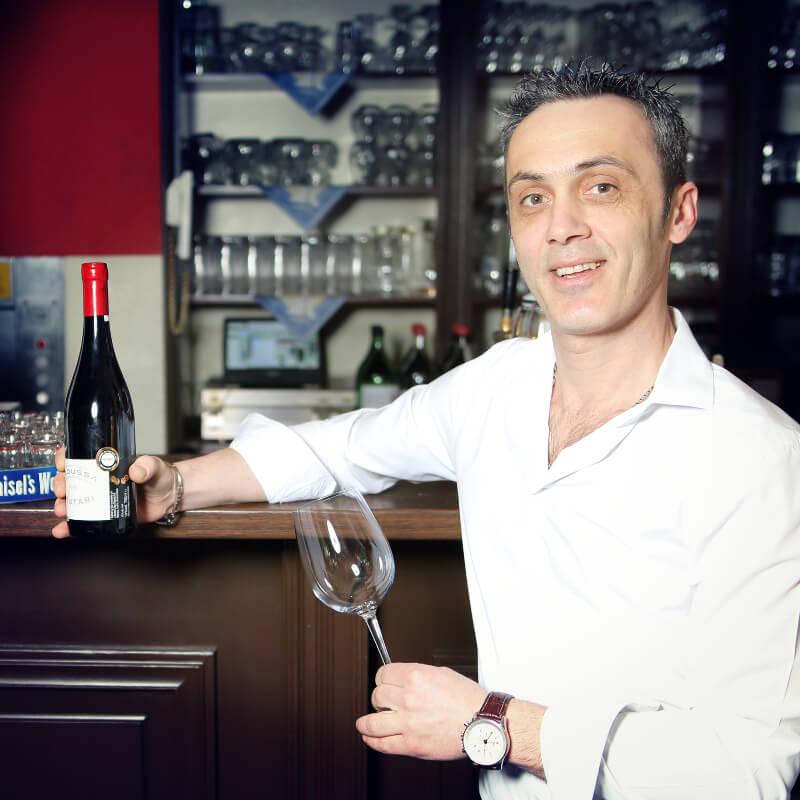 Restaurant Delphi Neuenhagen Kellner Wein