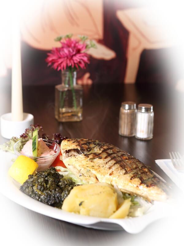 Restaurant Delphi Neuenhagen Fisch
