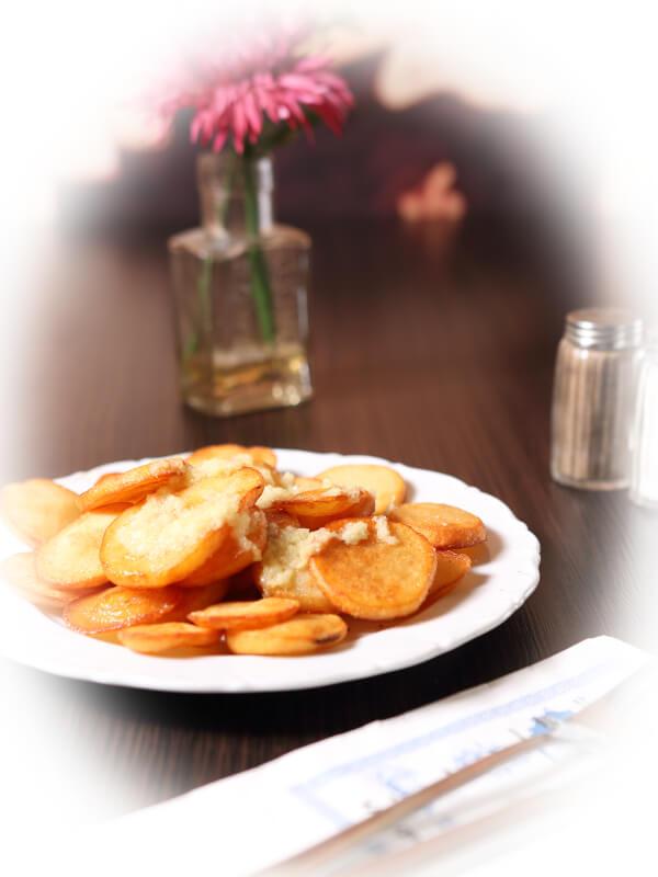 Restaurant Delphi Neuenhagen Knoblauchkartoffeln