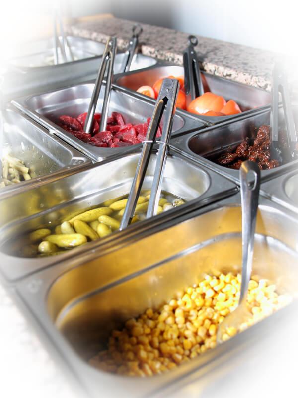 Restaurant Delphi Neuenhagen Salat